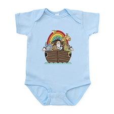 Noah's Ark and Rainbow Onesie