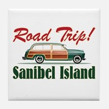 Road Trip! - Sanibel Tile Coaster