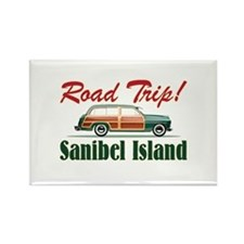 Road Trip! - Sanibel Rectangle Magnet