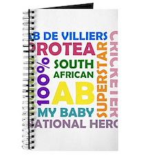 """""""AB de Villiers Word-Square"""" Journal"""