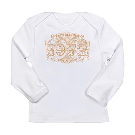 Established 1972 Long Sleeve Infant T-Shirt