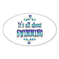 About Swimming Bumper Stickers