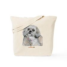 Cute Lhasa Apso Tote Bag