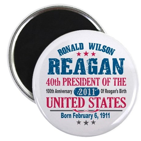 "Ronald Reagan 2.25"" Magnet (10 pack)"