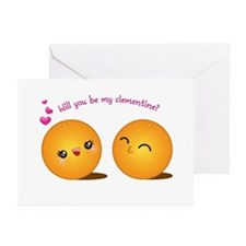 Be My Clementine Greeting Cards (Pk of 10)