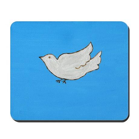 Dove Folk Art Mousepad
