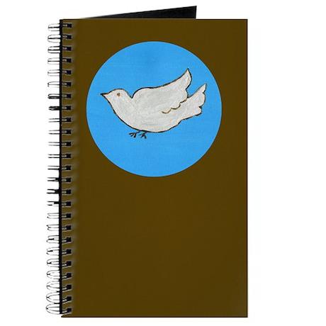 Dove Folk Art Journal
