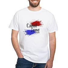 Stylized Panama Canal Zone Shirt