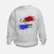 Stylized Panama Canal Zone Sweatshirt