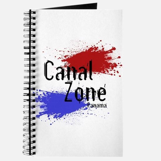 Stylized Panama Canal Zone Journal