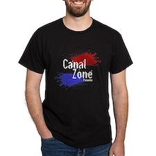 Stylized Panama Canal Zone T-Shirt