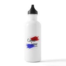 Stylized Panama Canal Zone Water Bottle