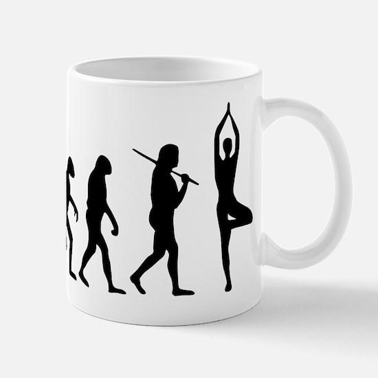 The Evolution Of Yoga Mug