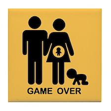 Game Over II Tile Coaster