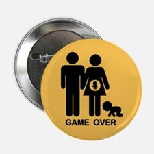 """Game Over II 2.25"""" Button"""