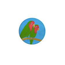 Lovebirds Mini Button (100 pack)