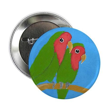 """Lovebirds 2.25"""" Button (10 pack)"""