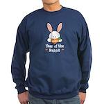 Year Of The Rabbit Sweatshirt (dark)