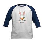 Year Of The Rabbit Kids Baseball Jersey