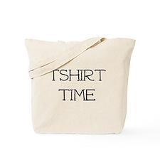Tshirt Time Tote Bag