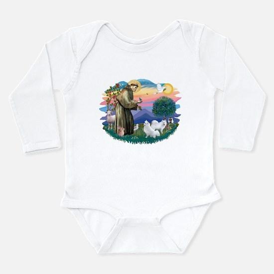 St.Francis #2/ Am Eskimo (2) Long Sleeve Infant Bo
