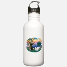 St.Francis #2/ Am Eskimo (2) Sports Water Bottle