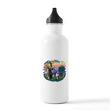 St.Francis #2/ Aus Shep (merl Water Bottle