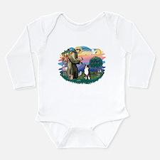St.Francis #2/ Aus Shep (tri) Long Sleeve Infant B