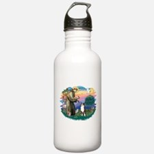 St.Francis #2/ Aus Shep (tri) Water Bottle