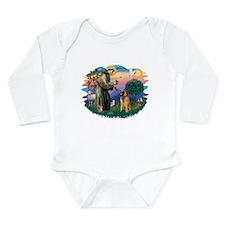 St Francis #2/ B Tervuren Long Sleeve Infant Bodys