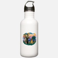 St Francis #2/ B Tervuren Water Bottle