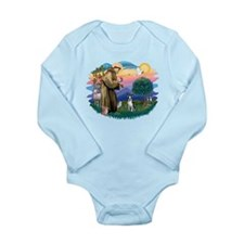 St Francis #2/ Boston T #1 Onesie Romper Suit