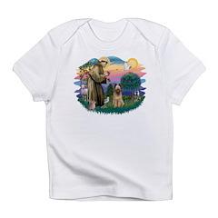 St Francis #2/ Briard (f) Infant T-Shirt