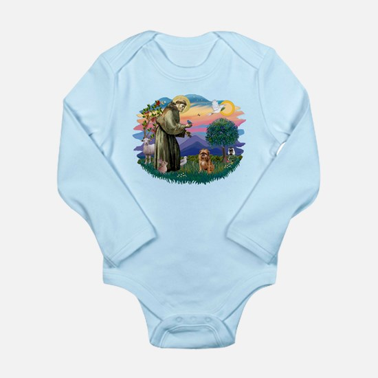 St Francis #2/ Brussels G Long Sleeve Infant Bodys