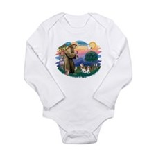 St.Fran #2/ Cavalier (2 bl) Long Sleeve Infant Bod