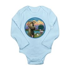 StFran./Chihuahua (LH) Long Sleeve Infant Bodysuit