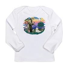 St.Francis #2/ Coton De Tulea Long Sleeve Infant T