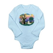 St.Francis #2/ Coton De Tulea Long Sleeve Infant B