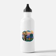 St.Fran #2/ Dachshund (LH-S) Water Bottle