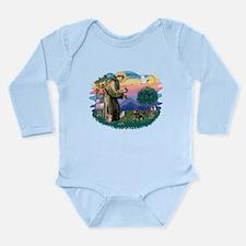 St.Fran #2/ Dachshund (BT) Long Sleeve Infant Body