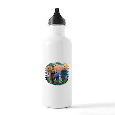 St Francis #2/ Dalmatian Water Bottle