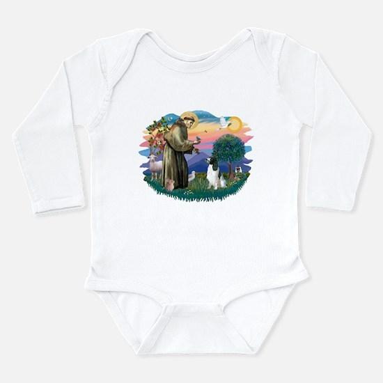 St Francis #2/ Eng Spring Long Sleeve Infant Bodys