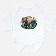 St.Francis #2/ Ger Shep #2 Long Sleeve Infant Body