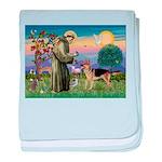 St Francis / G Shep baby blanket