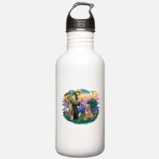 St.Francis #2/ Golden Ret(B4) Water Bottle