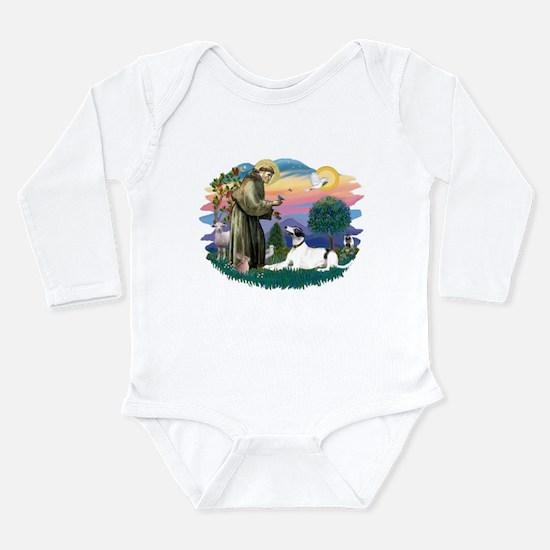St.Francis #2/ Greyhound Long Sleeve Infant Bodysu