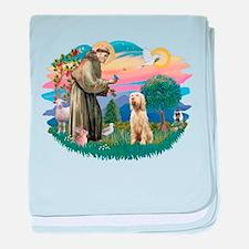 S, Fr, #2/ Italian Spinone baby blanket