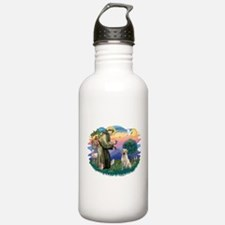 St.Francis #2/ Yellow Lab Water Bottle
