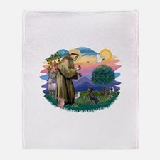 St.Francis #2/ Manchester T Throw Blanket