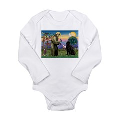 Saint Francis' Newfie Long Sleeve Infant Bodysuit